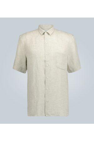 Sunspel Kurzarmhemd aus Leinen