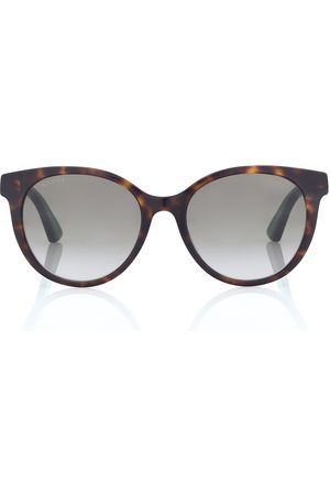 Gucci Runde Sonnenbrille aus Acetat