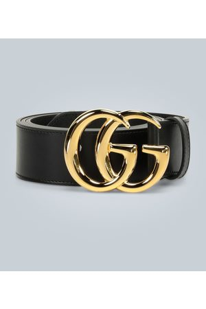 Gucci Ledergürtel GG Marmont