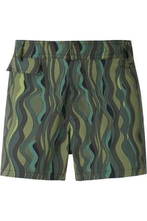 AMIR SLAMA Herren Badehosen - Ondas tactel swim shorts