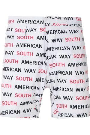AMIR SLAMA Herren Badehosen - South American Way tactel swim shorts