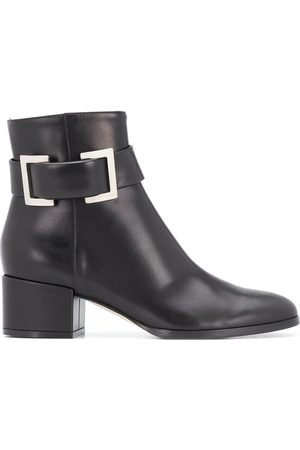 Sergio Rossi Buckle ankle boots