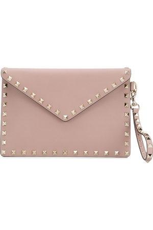 VALENTINO GARAVANI Damen Clutches - Rockstud medium flat pouch