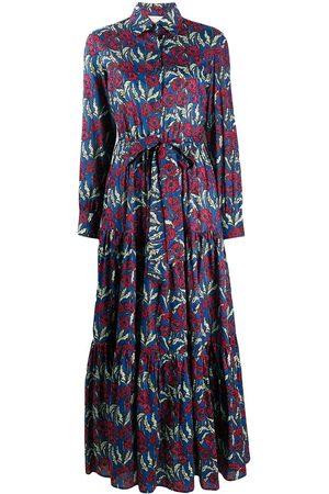La DoubleJ Damen Bedruckte Kleider - Bellini floral print shirt dress