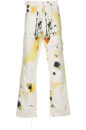 OFF-WHITE Futura abstract carpenter trousers