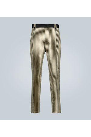 Dolce & Gabbana Gestreifte Hose aus Baumwolle