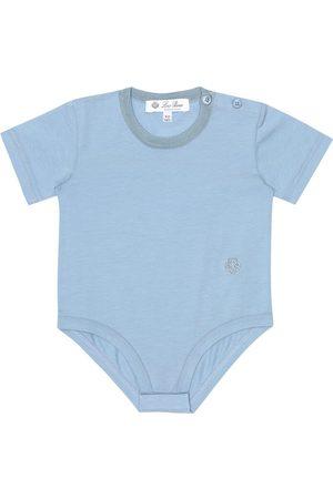 Loro Piana Baby Body aus Stretch-Baumwolle