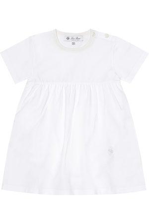 Loro Piana Baby Kleid aus Stretch-Baumwolle