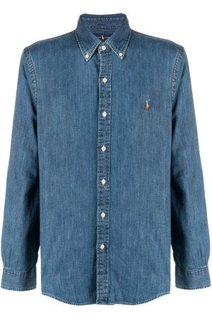 Polo Ralph Lauren Herren Shirts - Button-down logo denim shirt