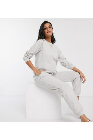ASOS ASOS DESIGN Maternity tracksuit ultimate sweat / jogger with tie