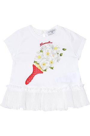 MONNALISA Baby Bedrucktes T-Shirt aus Jersey