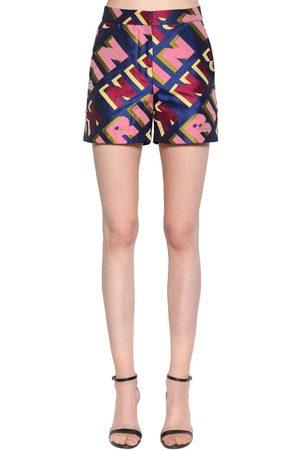 Kirin Typo Logo Jacquard Shorts