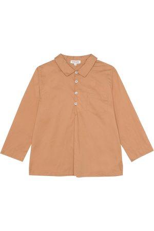 Caramel Hemd Westminster aus Baumwolle