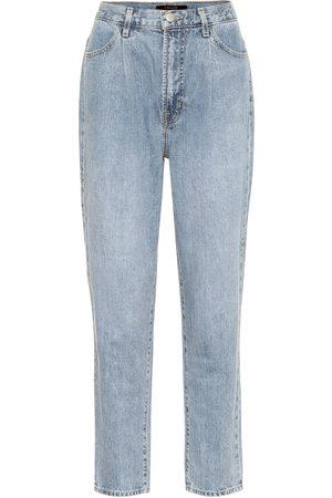J Brand High-Rise Straight Jeans Peg