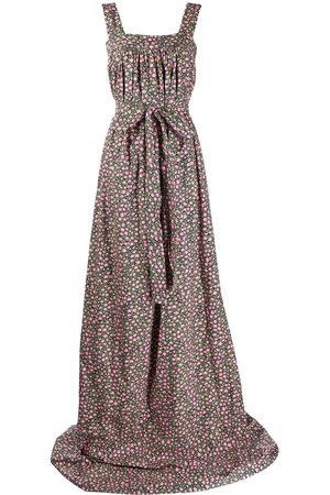 La DoubleJ Damen Bedruckte Kleider - Mimosa daisy print short dress