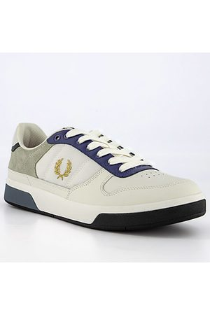 Fred Perry Herren Sneakers - Schuhe Leather Suede Mesh B8330/303
