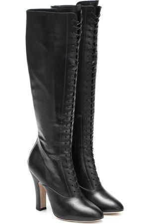 Miu Miu Stiefel aus Leder
