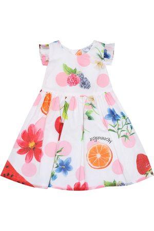 MONNALISA Baby Kleid aus Baumwolle