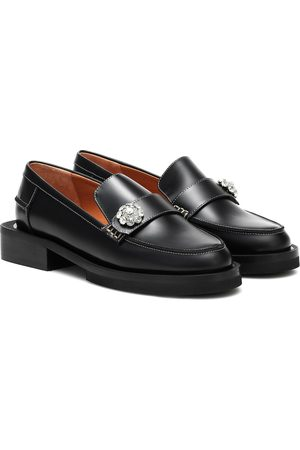 Ganni Loafers Jewel aus Leder