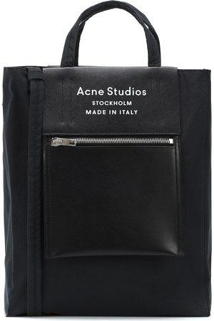 Acne Studios Tote Baker Medium mit Leder