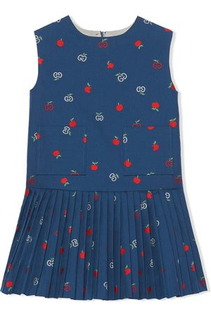 Gucci GG apple sleeveless dress