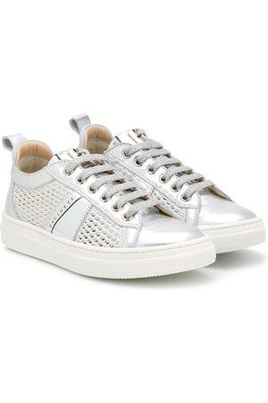 Cesare Paciotti Metallic low-top sneakers