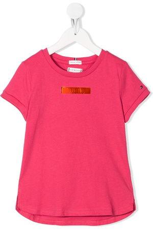 Tommy Hilfiger Metallic logo T-shirt