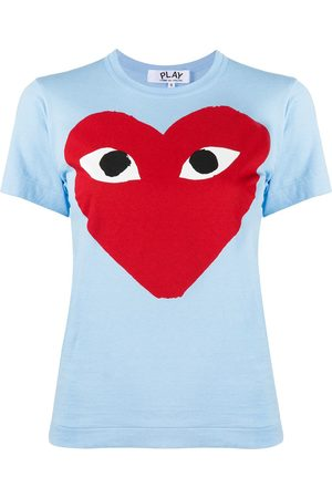 Comme des Garçons Heart-print crew neck T-shirt