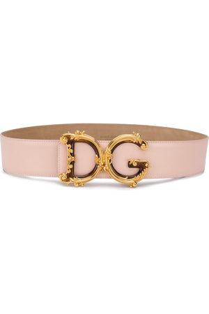 Dolce & Gabbana Baroque DG buckle belt