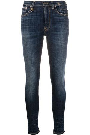 R13 Damen High Waisted - High-rise skinny jeans