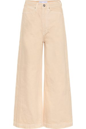 Proenza Schouler High-Rise Jeans mit weitem Bein