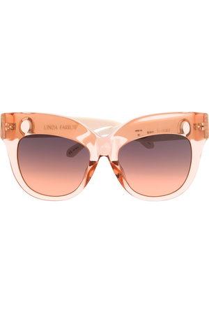 Linda Farrow Dunaway oversized-frame sunglasses