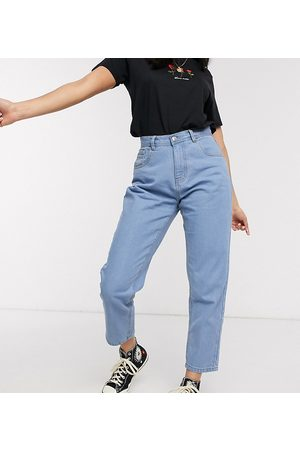 Wednesday's Girl Damen Baggy & Boyfriend - Mom jeans in light wash