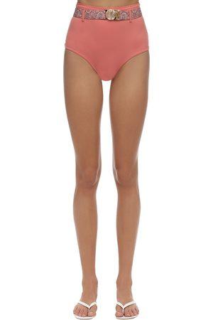 PALM SWIM Mesa Belted Bikini Bottoms