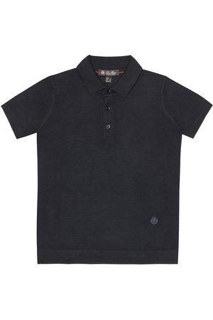Loro Piana Jungen Poloshirts - Polohemd aus Schurwolle