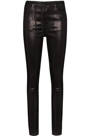J Brand Maria skinny faux leather trousers