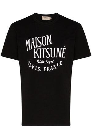 Maison Kitsuné Palais Royal logo print T-shirt