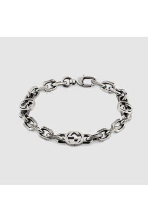 Gucci Uhren - Armband aus Silber mit GG