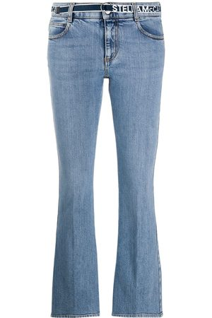 Stella McCartney Low-rise cropped jeans