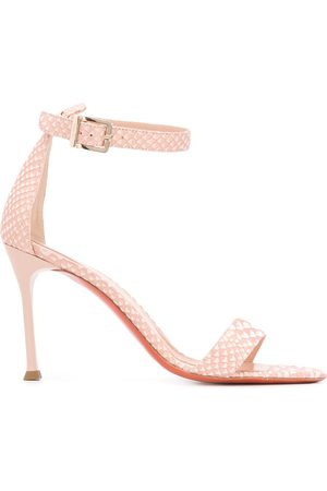 BALDININI Damen Sandalen - Snake print 100mm sandals