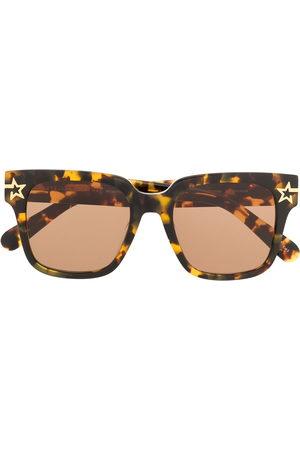 Stella McCartney Tortoiseshell oversized-frame sunglasses