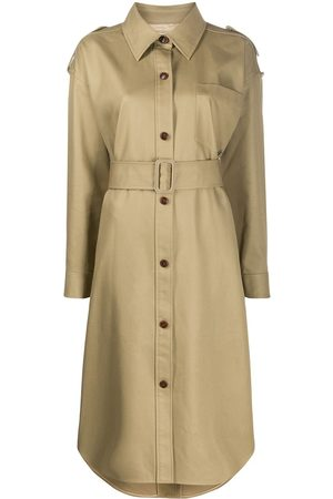 Alexander Wang Damen Trenchcoats - Button down belted trench coat