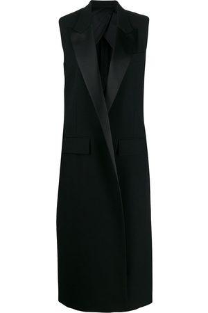 Ami Damen Westen - Sleeveless long-line waistcoat