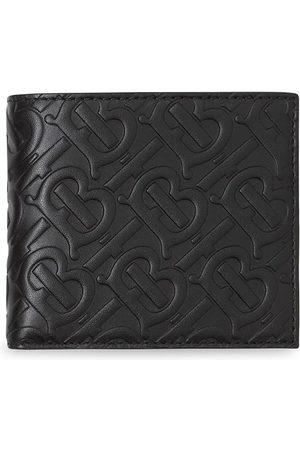 Burberry Monogram Leather International Bifold Wallet