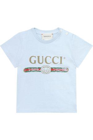 Gucci Baby Bedrucktes T-Shirt aus Baumwolle