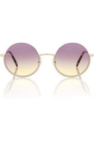 Miu Miu Runde Sonnenbrille Société