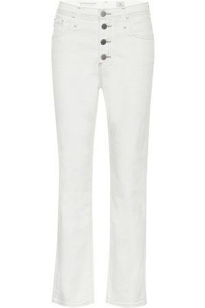 AG Jeans High-Rise Straight Jeans Isabelle