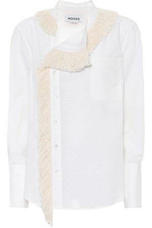 MONSE Hemd aus Baumwolle und Leinen