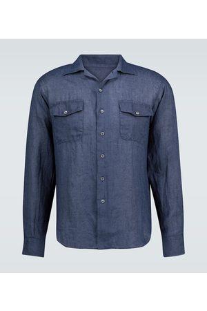 THE GIGI Langarmhemd Araki aus Leinen