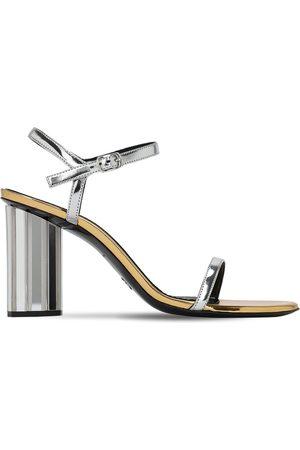 Proenza Schouler 90mm Metallic Patent Faux Leather Sandal